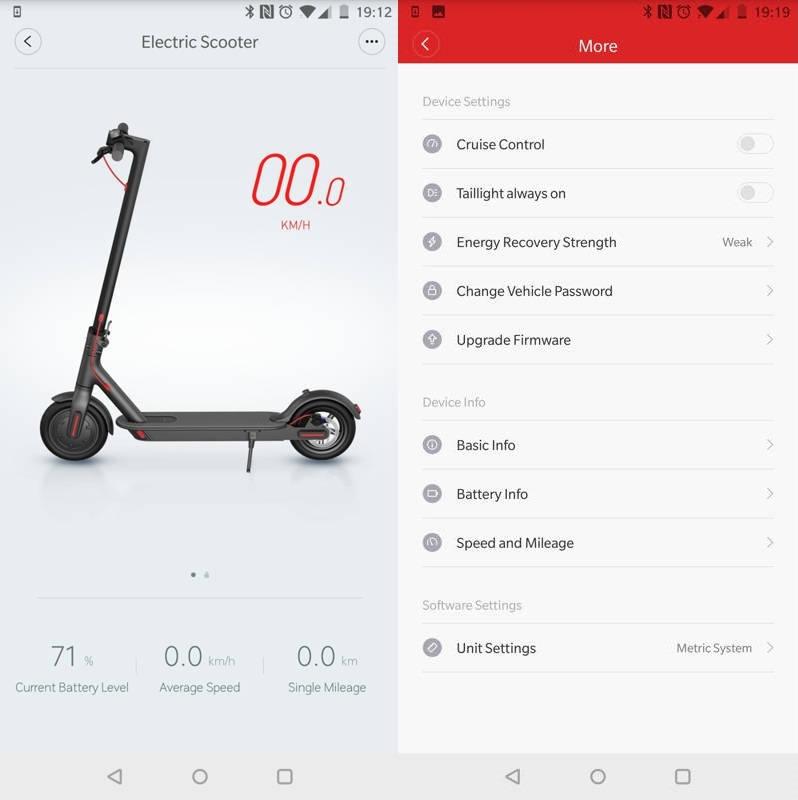 App Xiaomi Mi Home Mijia M365