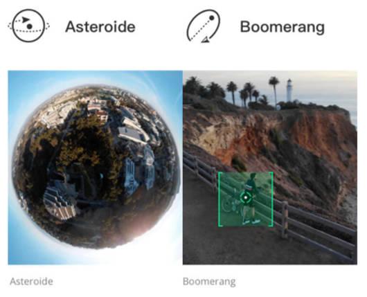 Foto en modo Asteroid con DJI Mavic Air
