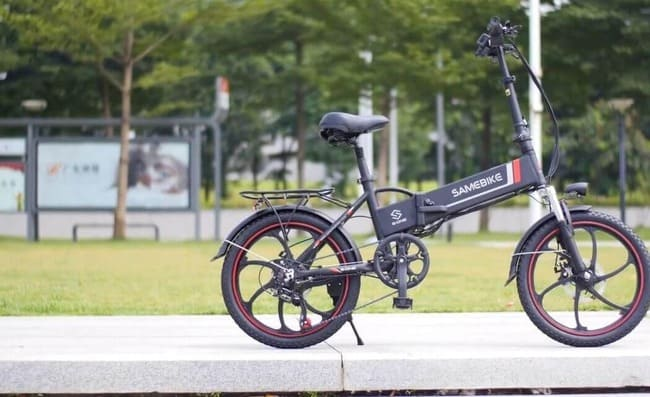 Bicicleta eléctrica Samebike 20LVXD30 opiniones