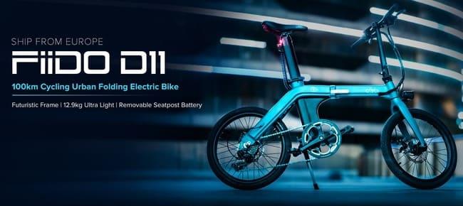 Bicicleta electrica Fiido D11